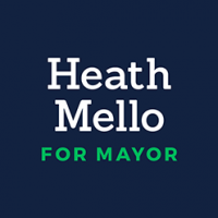 Heath Mello for Mayor Logo