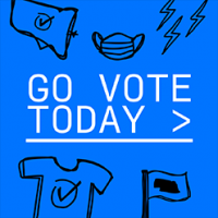 Go Vote Today Logo
