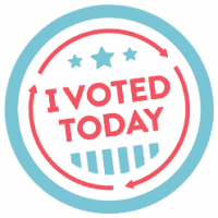 I Voted Today Logo